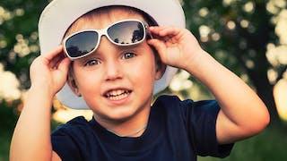 bébé lunettes de soleil