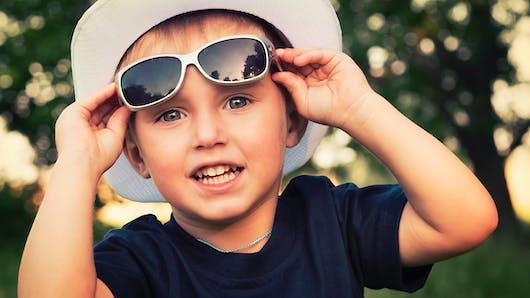 Protection solaire : les lunettes de soleil pour Bébé