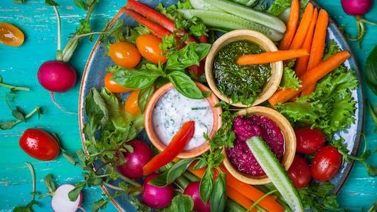 Nutrition : on met les crudités au menu de bébé!