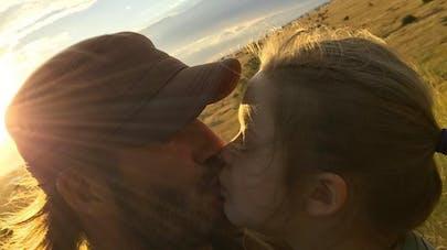David Beckham : « J'embrasse tous mes enfants sur la bouche »