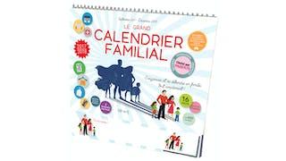 Le grand calendrier familial de FLEURUS