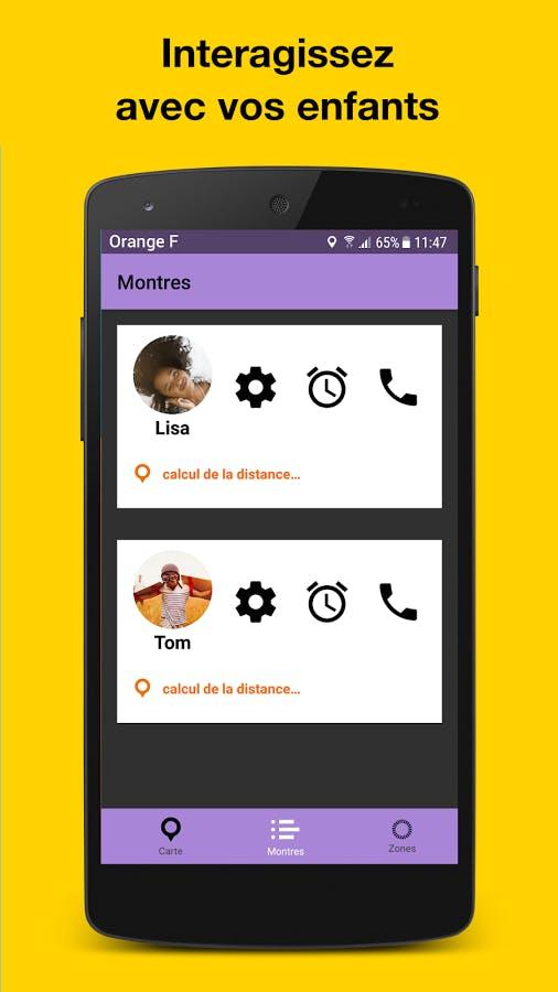 Application mobile Family Go