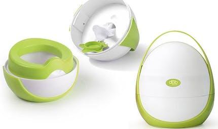 Le pot nomade dBb Remond, pour faciliter l'apprentissage de la propreté