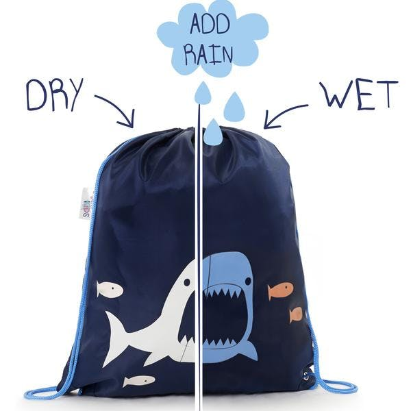sac pour enfants Squidkids motif requin