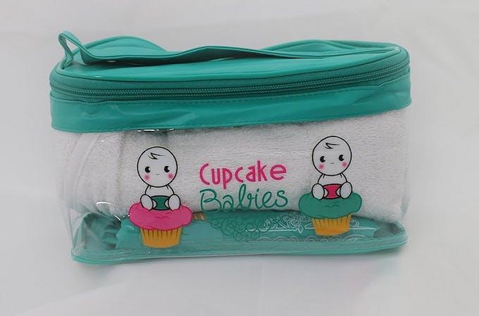 Baignoire gonflable Cupcake Babies - trousse pochette housse rangement