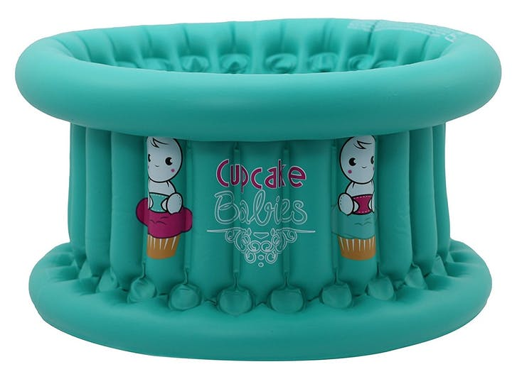 Baignoire gonflable Cupcake Babies - turquoise mint
