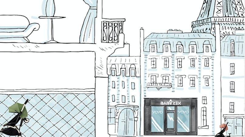 Babyzen ouvre son 1er concept store à Paris