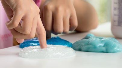 Le slime dangereux pour la santé des enfants