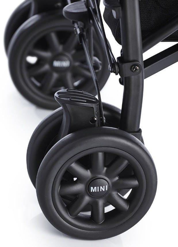 Poussette canne MINI Buggy d'Easywalker - suspensions roues arrière