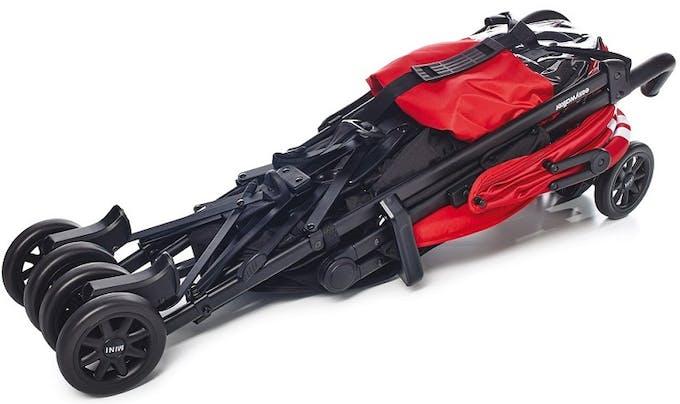 Poussette canne MINI Buggy d'Easywalker - pliage compact pliée