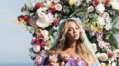 Beyoncé et ses jumeaux Rumi et Sir