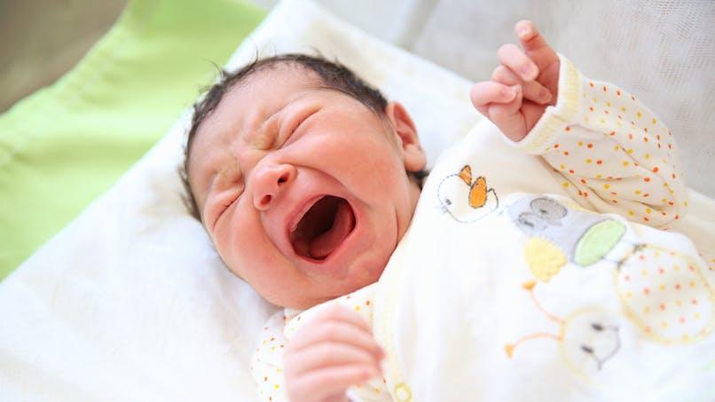 Un bébé pleure différemment, cela le sauve d'une septicémie