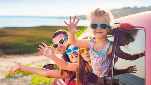 Les enfants mettent près d'une heure pour signaler une envie pressante en voiture