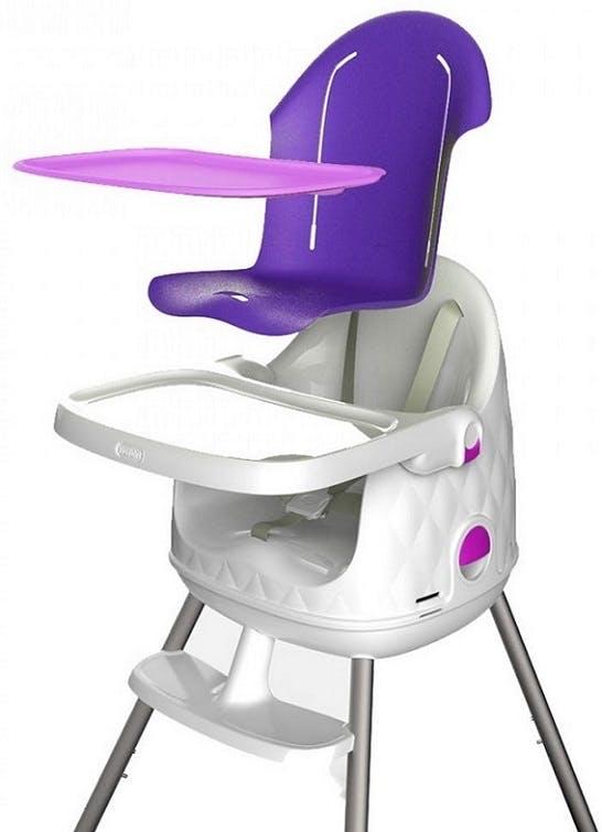 Chaise haute Multi Dine de Babytolove - assise et plateau lavables amovibles