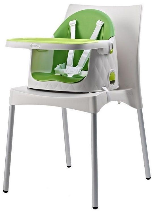 Chaise haute Multi Dine de Babytolove - réhausseur vert lime