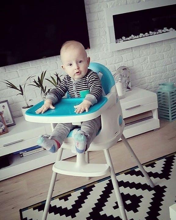 Chaise haute Multi Dine de Babytolove - design look