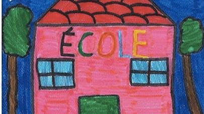 dessin d'une école