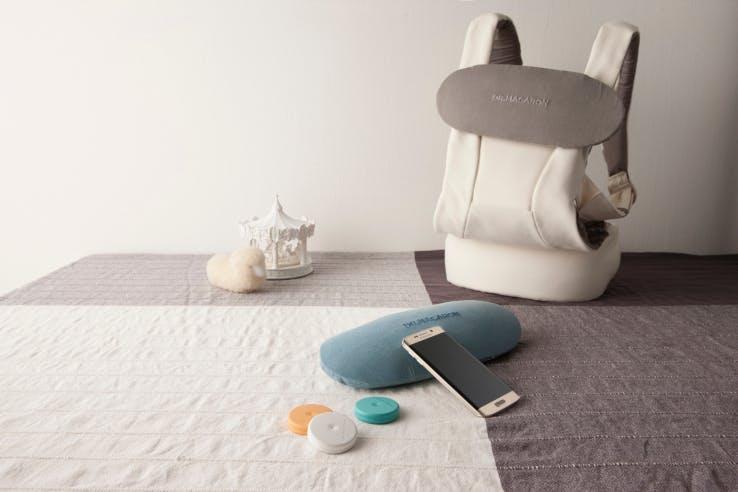 Monit le capteur pour bébé qui se place sur la couche.
