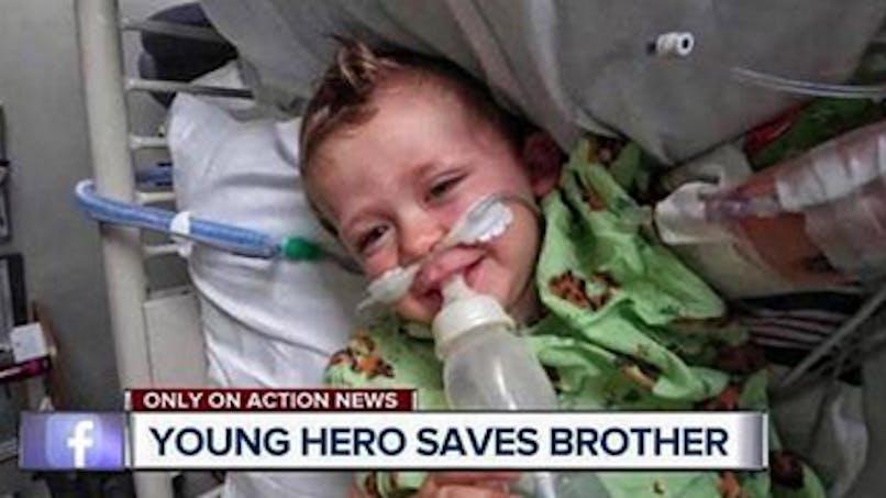 A 10 ans, il imite son acteur préféré et sauve la vie de son petit frère (VIDEO)
