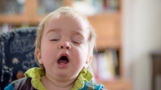 Bébé a un rhume