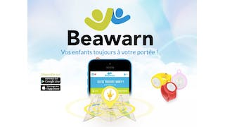 application et bracelet Beawarn