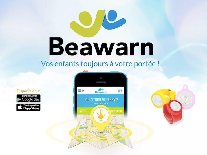 application et bracelet Beawarn