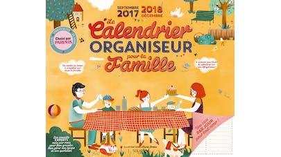 La couverture du Calendrier organiseur pour la famille