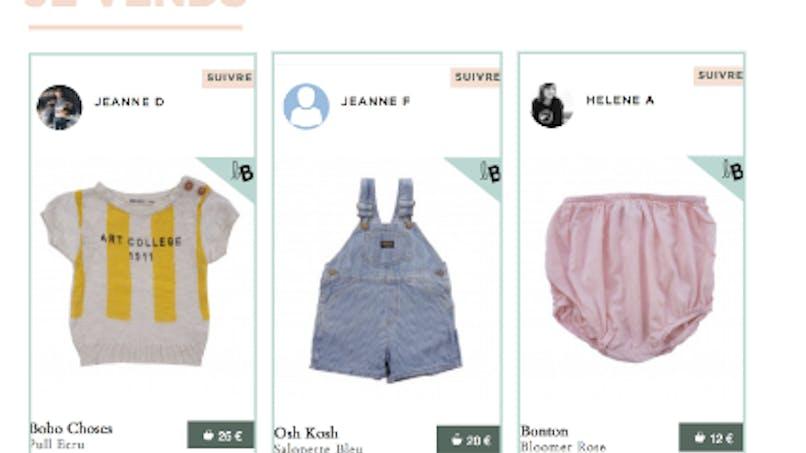 By Bambou: le site où vendre les vêtements d'enfants trop petits