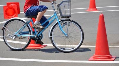 cours de prévention routière à école