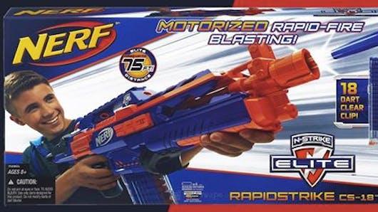 Les pistolets « Nerfs » dangereux pour les yeux des enfants