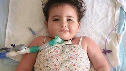 Marwa à l'hôpital
