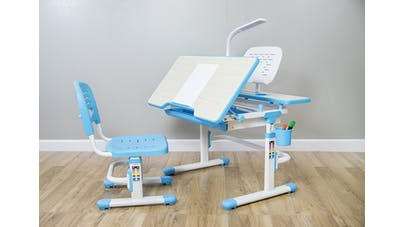 """bureau """"Deluxe Art"""" de la marque Vivo avec chaise"""