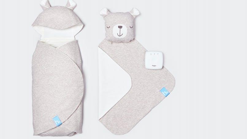 Hugsy, la couverture intelligente qui réconforte les nouveau-nés et les bébés prématurés