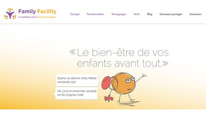 Family Facility home page du site web