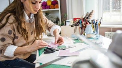 femme activité créative