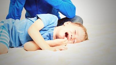 parent dépassé par la crise de l'enfant