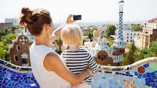 famille à Barcelone