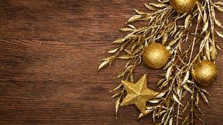 La décoration pour le sapin de Noël