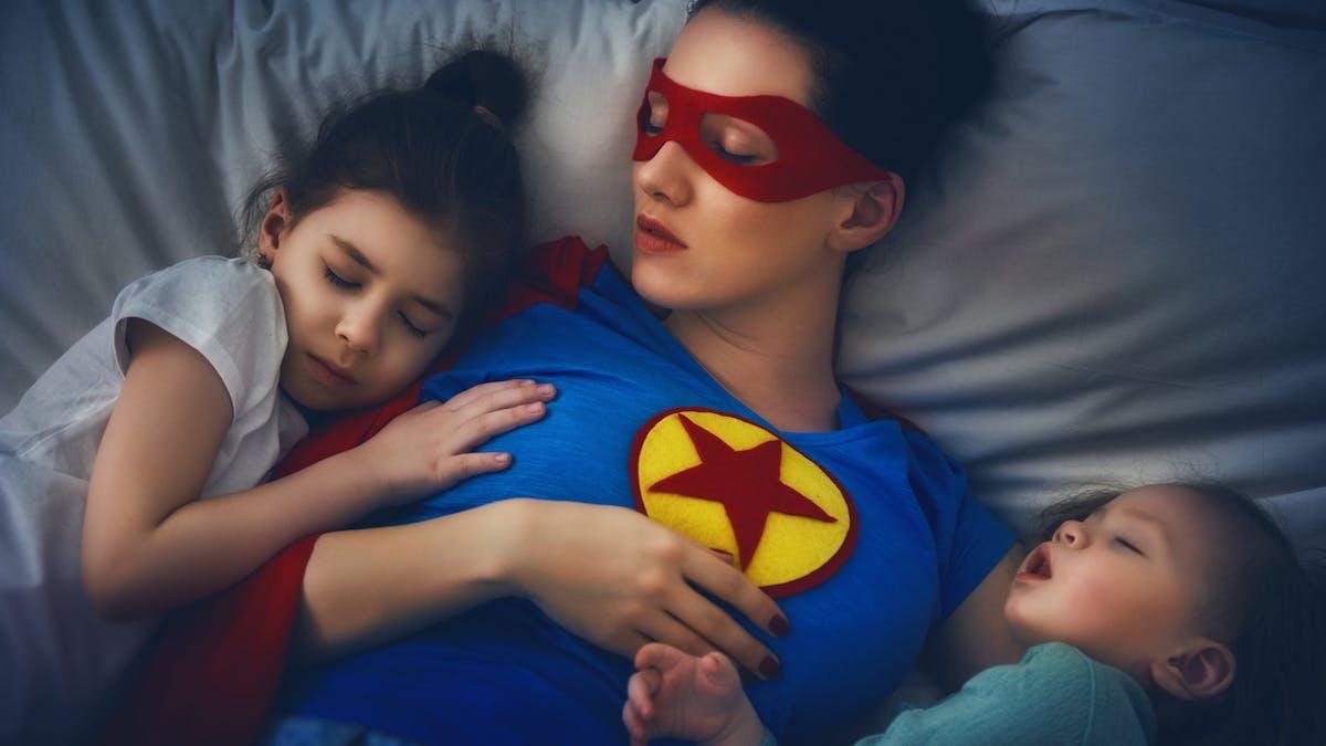 maman super woman