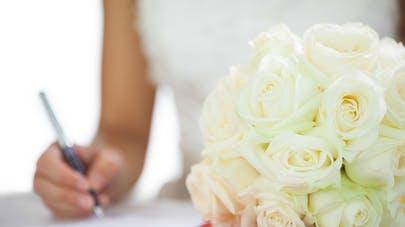signature registre mariage