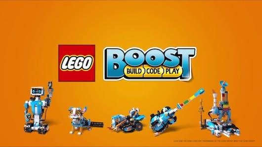 LEGO® Boost, un pack innovant pour initier les enfants au code et à la programmation