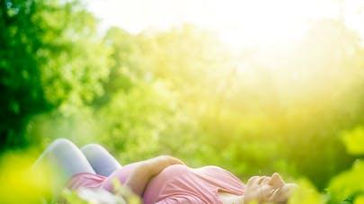 femme grossesse zen