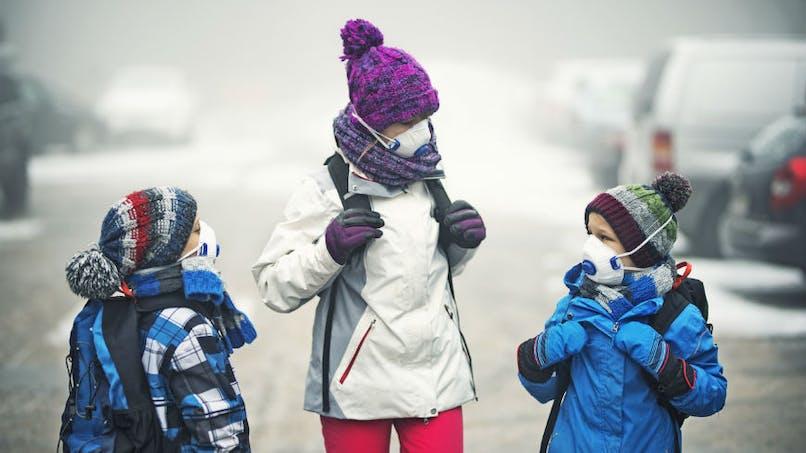 Comment la pollution affecte le cerveau des enfants