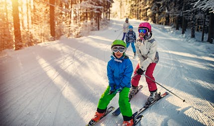 Ski en famille : les stations les plus attractives