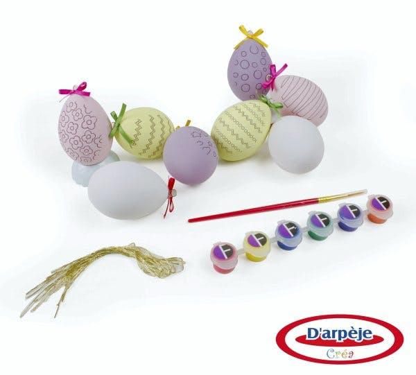 Pâques : 8 œufs à décorer Oxybul