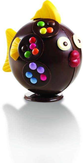 poisson en chocolat de Pâques