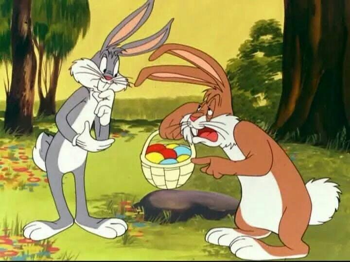 Bugs Bunny Joyeuses Pâques