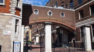 st Mary's hospital Londres