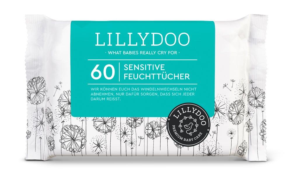 Lingettes peaux sensibles bébé Lillydoo
