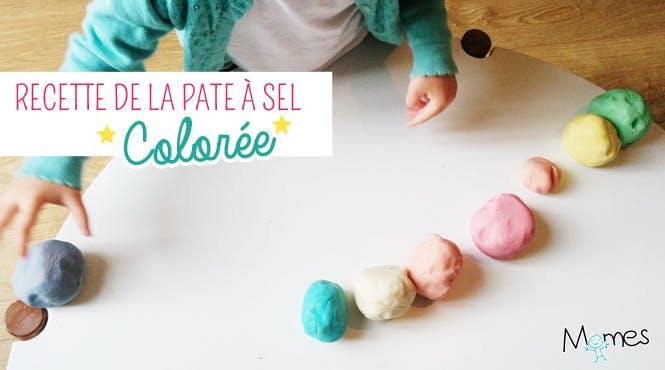 recette de pâte à sel pour occuper les enfants les jours de pluie